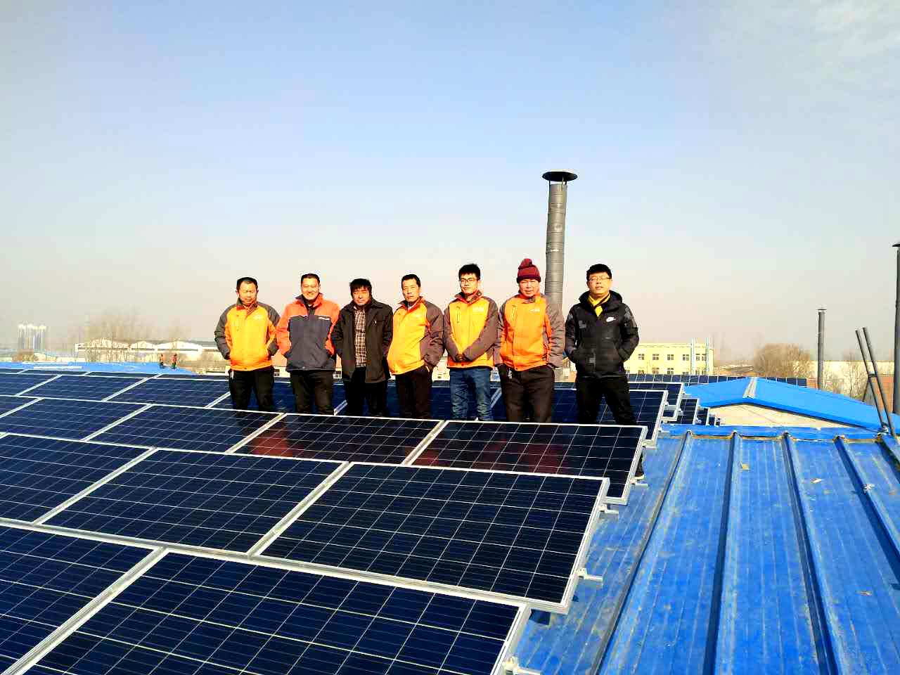 山东滨州阳信1200KW光伏发电项目